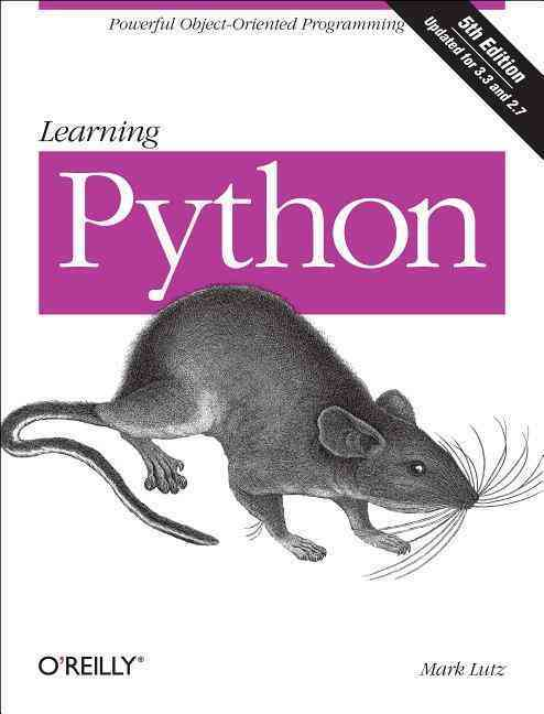 Learning Python By Lutz, Mark