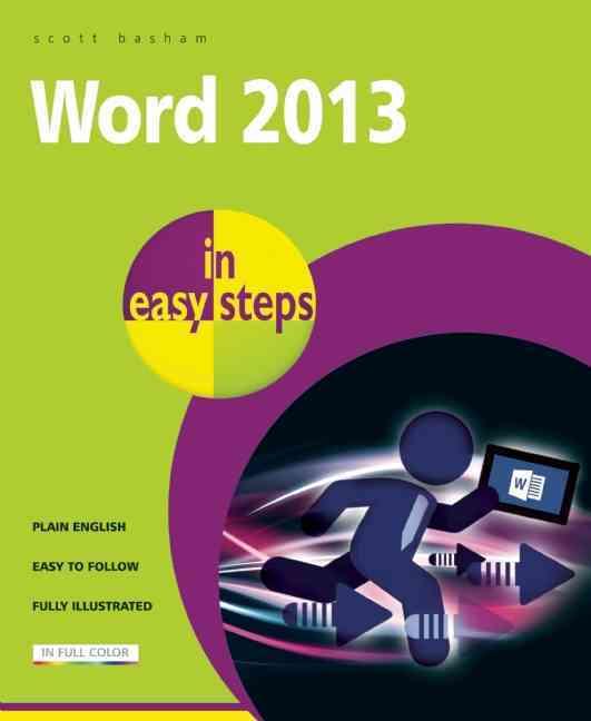 Word 2013 in Easy Steps By Basham, Scott